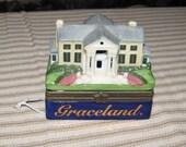 Graceland porcelain trinket box