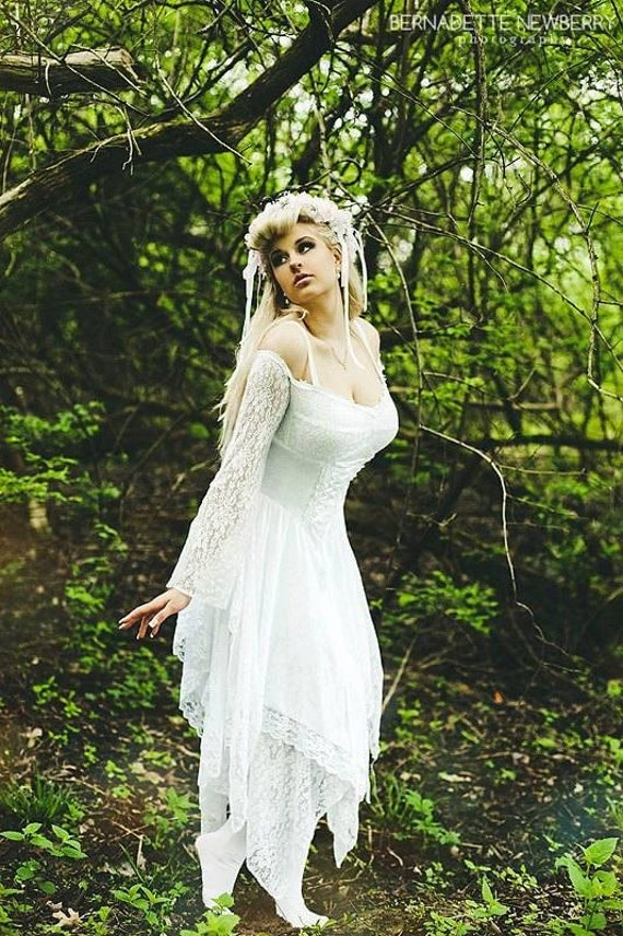 items similar to fairy medieval fantasy shorter wedding