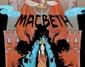 The Scottish Play -- 8x12 Macbeth literature mini poster