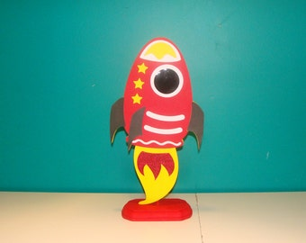 Made To Order Rocketship Center Piece