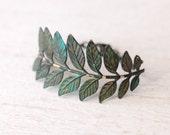 Everlasting Everything II... ((leaf and branch stamping bracelet))