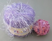 Lavender Eyelash Plymouth Collection Francaise Plus Free Gift - destash by foxygknits