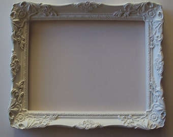 Paris Wedding Cottage White or Color Choice 11x14 Vintage Inspired Ornate Wall Picture Frame French Country Gift