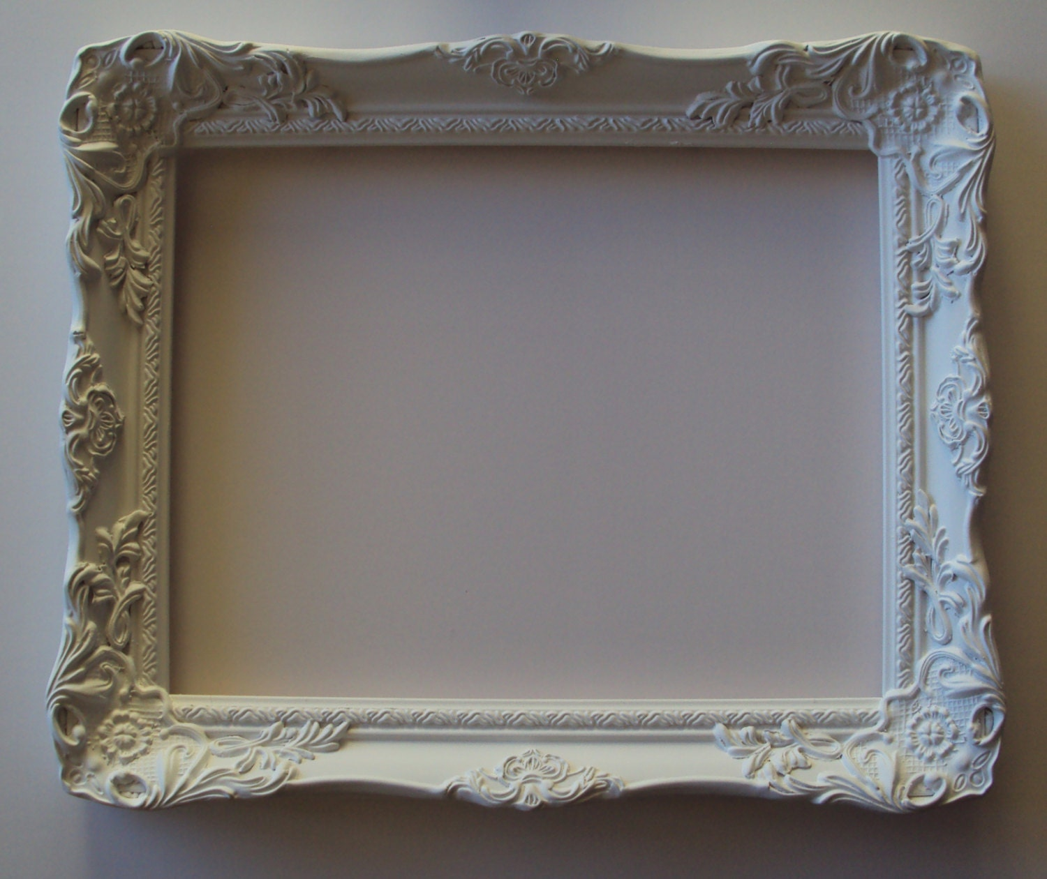 Glasses Frame In French : French Provincial Cottage White or ANY COLOR 11x14 Vintage