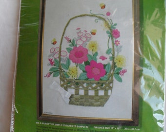 Quick n Easy NeedleWork Embroidery Kit