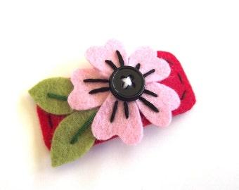 Cherry Blossom Flower Hair Clip