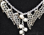 Sandy Hook Newtown Angel Wing Necklace
