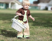 Boys Easter Outfit, Tie Shirt, Easter Shirt, Spring Outfit, Boys Clothes, Boys Clothing - aHouseintheWoods