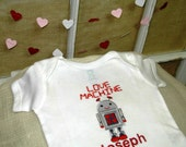 Love Machine Valentine Onsie