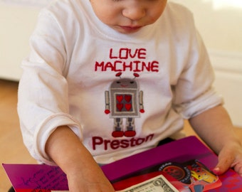 Love Machine Valentine Shirt
