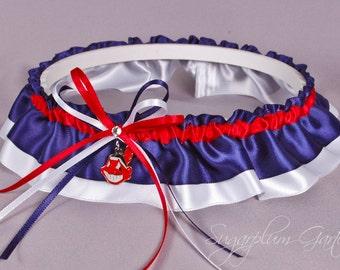 Cleveland Indians Wedding Garter