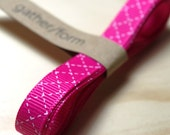 Pink Grosgrain Ribbon / 1 cm wide 120 cm long