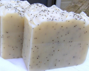Shampure with Poppy Seeds - Gourmet Soap Bar - 5 oz