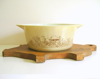 Vintage Pyrex Casserole - Forest Fancies - Woodland
