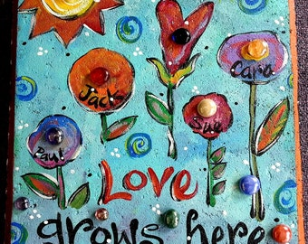 Garden Stone, Stepping Stone, Love grows here
