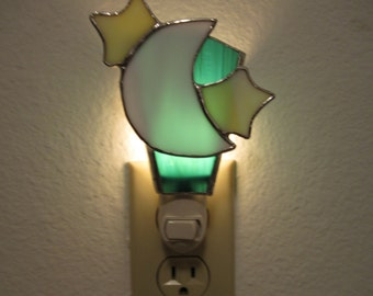 Moon and Stars Nightlight