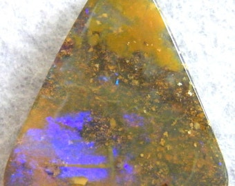 Free Shipping - Australian Opal, Large Glassy Purple Natural Boulder Opal - Item 6313