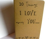 10 Things I LOVE about YOU...