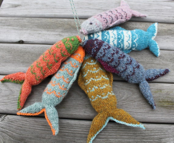 Fair Isle Fish Knitting Pattern