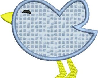 Baby Bird Applique Machine Embroidery Designs 4x4 & 5x7 Instant Download Sale