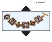 Beadweaving Tutorial - Bollywood Bracelet, Pendant and Earrings