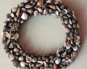 Small Seashell Wreath