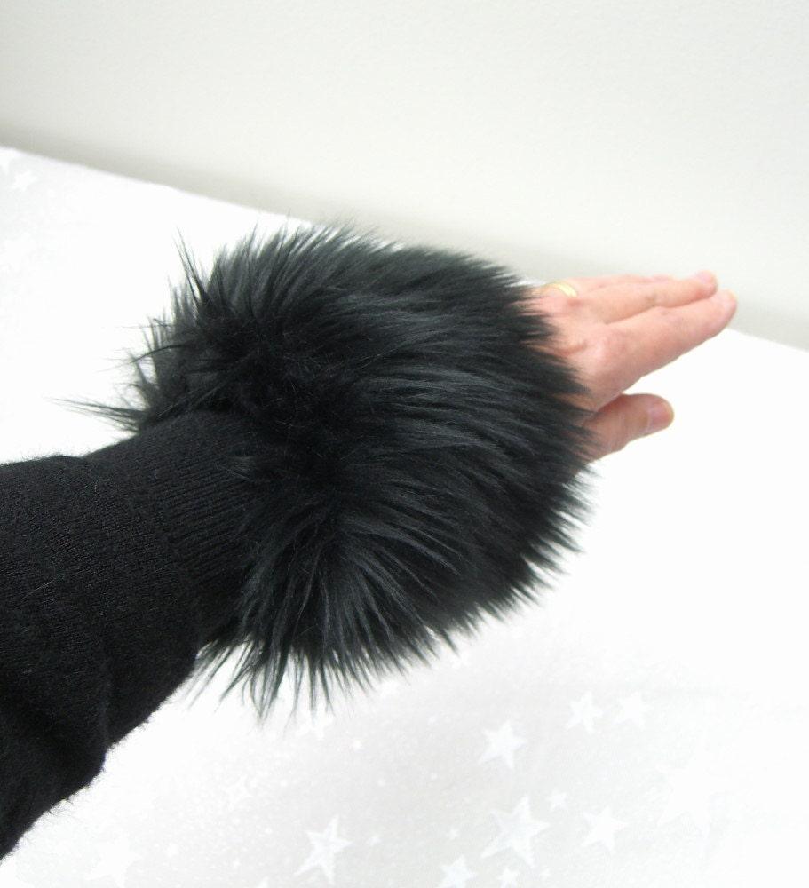 Faux Fur Cuffs