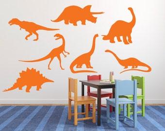 Dinosaur wall decal, Boys wall decal, Dinosaur sticker, Wall sticker for bedroom, Dinosaur wall art, Kids wall decal, Sticker decal DB245