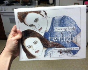Twilight Coloring Book Physical Copy