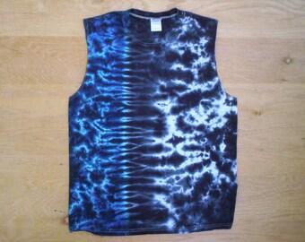 Tie Dye Sleeveless Shirt Size Large