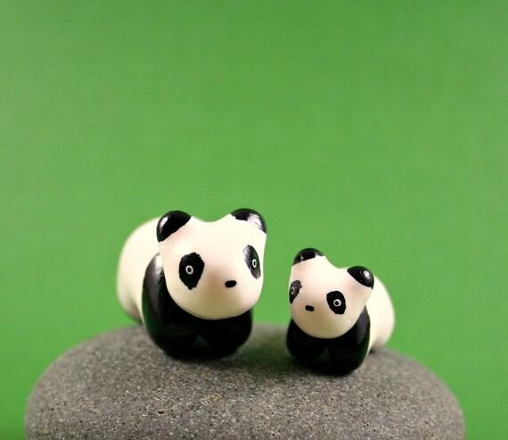 手工--微型软陶动物