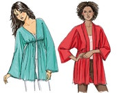 Misses Jacket Sewing Pattern - Womens Jacket Pattern - Butterick 5224 - B5224 - Uncut, Factory Folded