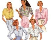 Misses Blouse Sewing Pattern - Simplicity 9857 - Sewing Pattern - Womens Blouse Pattern - Uncut, Factory Folds