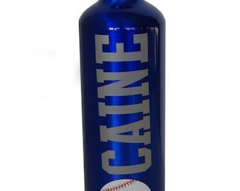Personalized Aluminum Water Bottle - 25 fl.oz. - Baseball