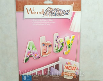 Craft Attitude Printable Film used for glass, wood, jewelry making (01-07-310)