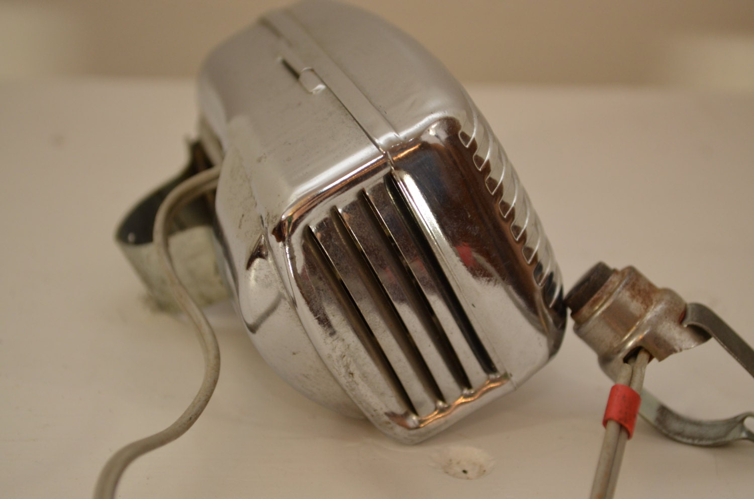 Antique Tricycle Horn : Vintage bike horn chrome electronic s or by