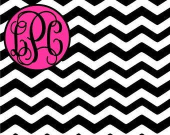 Chevron Personalized Mouse Pad, Personalized Mousepad, Monogrammed Mouse Pad, Monogrammed Mousepad, Custom Mouse Pad, Custom Mousepad