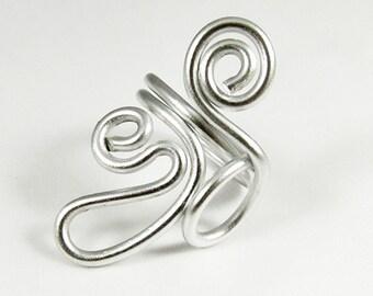 Waves Adjustable Ring