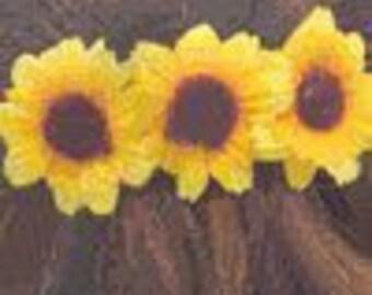 Sunflower Hair Barrette - Summer Fashion Hair Accessory