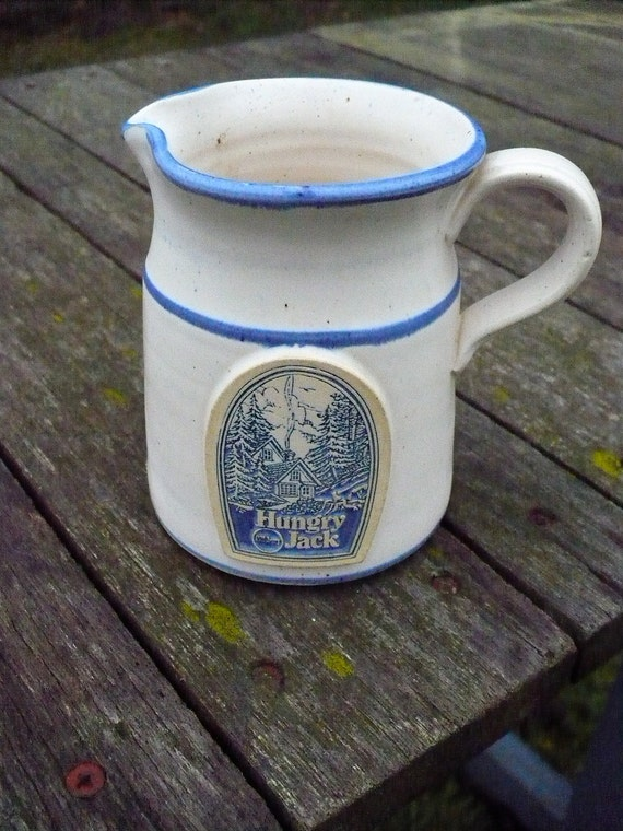 Pillsbury Hungry Jack Small Syrup Pitcher