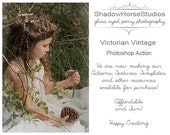 Victorian Vintage Action For Photographic and Digital Artists