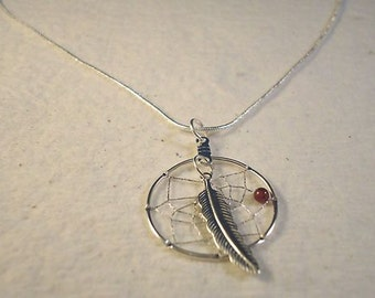 Dream Catcher Pendant For Your Necklace Native American Made