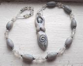 Snow Queen - Witches' Ladder - Prayer Beads