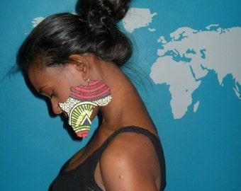 Large Africa Earrings