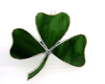 Celtic Green Stained Glass Emerald isle Lucky Irish Clover St Patricks Day Shamrock Moss March 17 Spring Birthday Wedding Decorations Clover