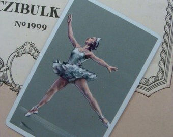 Antique Ballerina Ballet Dancer Very French Ballet Trade Playing Cards Card Lot