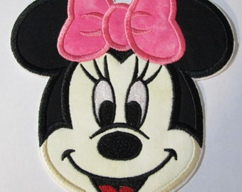 Iron On Applique - Smiling Girl Mouse