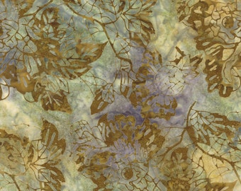 Love Letter Misty Leaf Batik Fabric - Moda