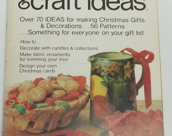 Vintage Decorating and Craft Ideas Made Easy, November 1976