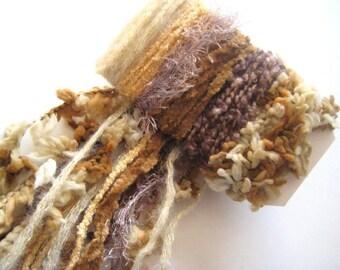 SAHARA SANDS Specialty Yarn Fiber Embellishment Bundle - Scrapbooking, Altered Arts, Jewelry - 5 or more bundles 10% off